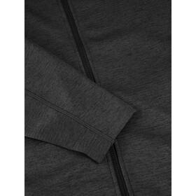 Berghaus Spitzer InterActive Bluza polarowa z kapturem Mężczyźni, jet black/grey pinstripe